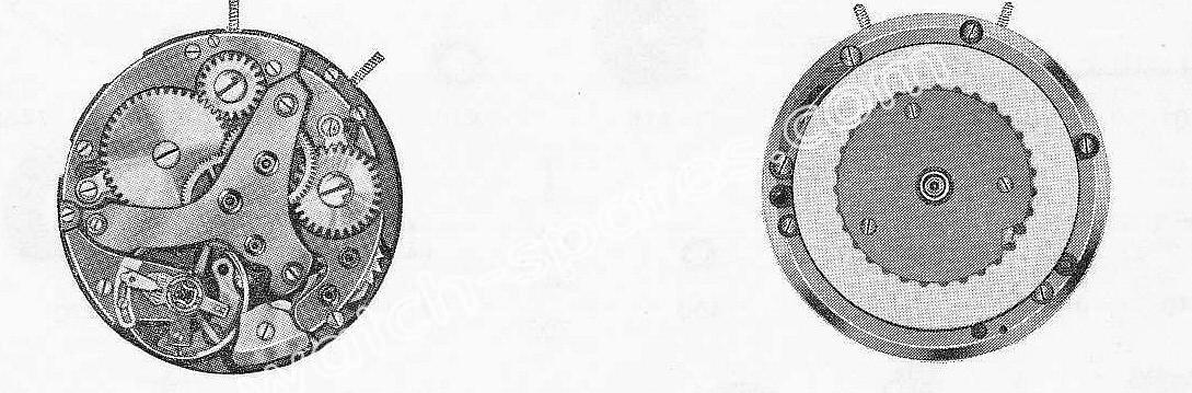 A Schild AS 1931 watch movement