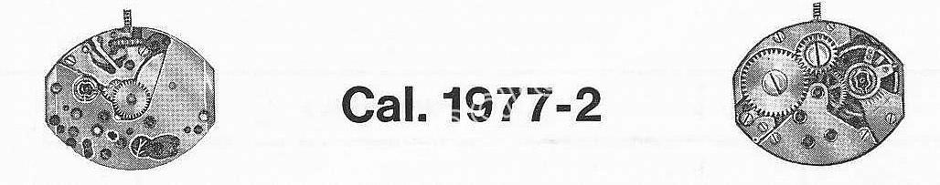 A Schild AS 1977 2 watch movement