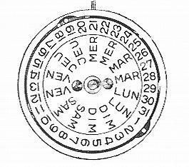 A Schild AS 2066 watch movement