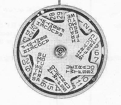 A Schild AS 2086 watch movement