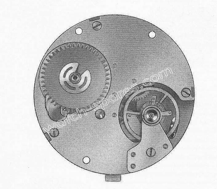 Baumgartner BFG 552 watch movement