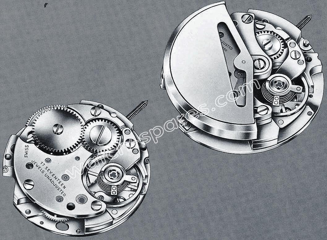 Baumgartner BFG 921 watch movements